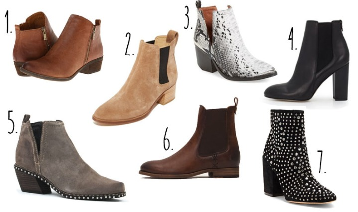 Fashion Round Up: Ankle Booties