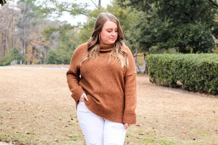 Chunky Sweater + BIG NEWS!