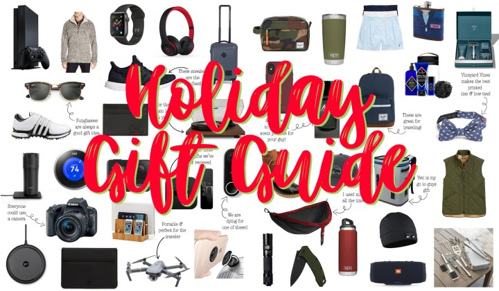 Holiday Gift Guide: ForHim