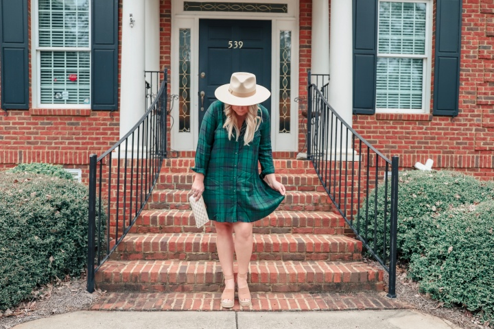 Plaid For Spring + The Perfect Lack Of Color Hat