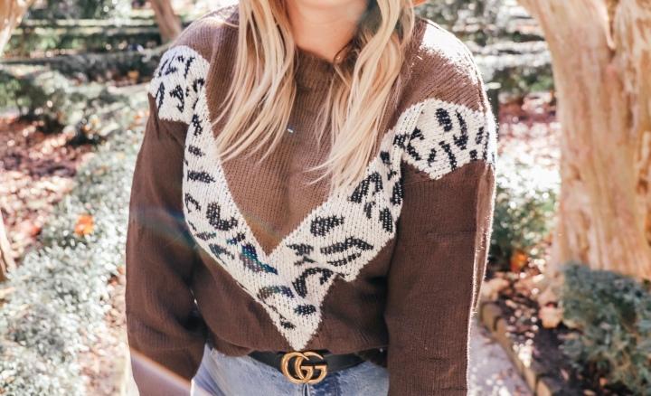 The Cutest Leopard AmazonSweater