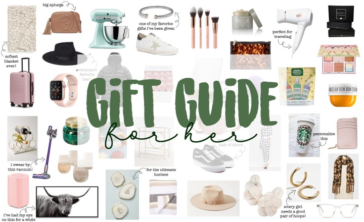 Holiday Gift Guide For Her2019