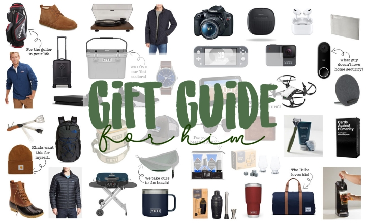 Holiday Gift Guide For Him2019