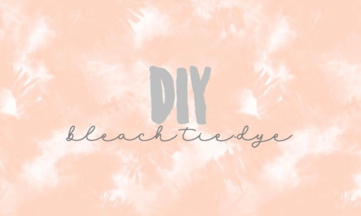 DIY Bleach TieDye