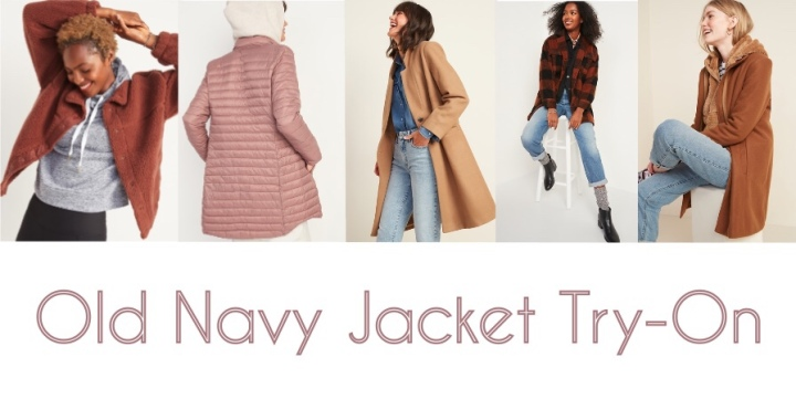 Old Navy Jacket Try-On